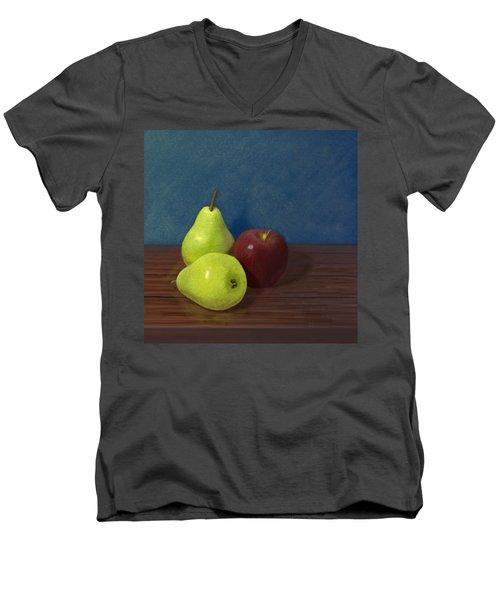 Fruit On A Table Men's V-Neck T-Shirt