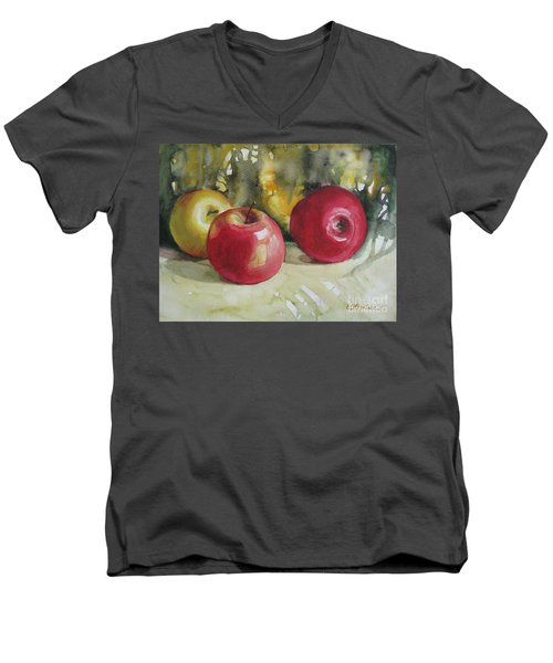 Fruits Of The Earth Men's V-Neck T-Shirt by Elena Oleniuc