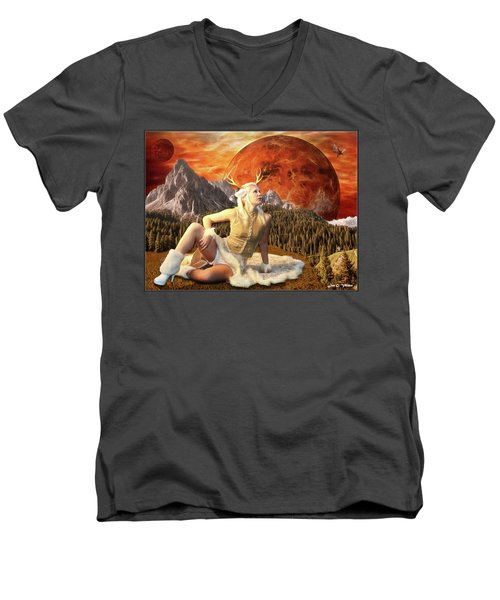 Fuan At Dawn Men's V-Neck T-Shirt
