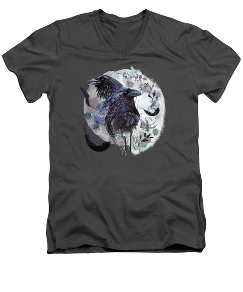 Full Moon Fever Dreams Of Velvet Ravens Men's V-Neck T-Shirt