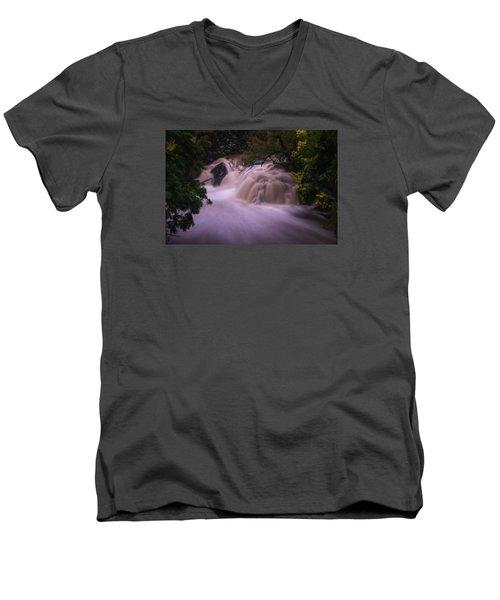 Full Whetstone II Men's V-Neck T-Shirt by Tom Singleton