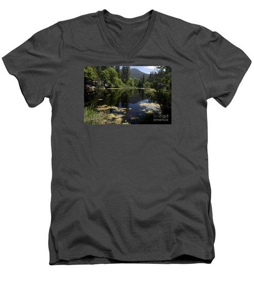 Fulmor Lake Men's V-Neck T-Shirt