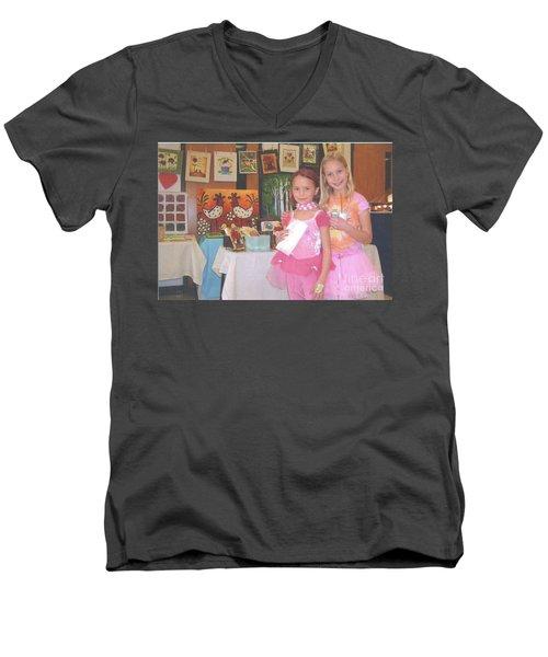 Fund Raiser/booth Sales Of My Art Men's V-Neck T-Shirt