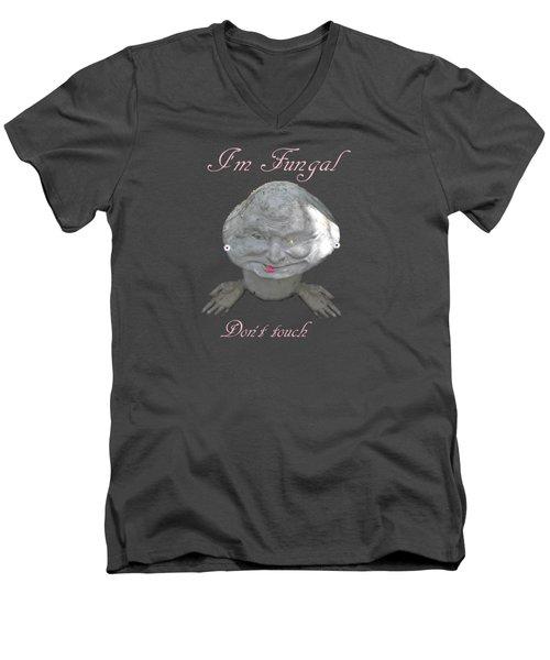 Fungal Men's V-Neck T-Shirt by David and Lynn Keller