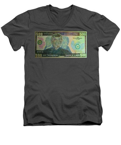 Funny Money Men's V-Neck T-Shirt