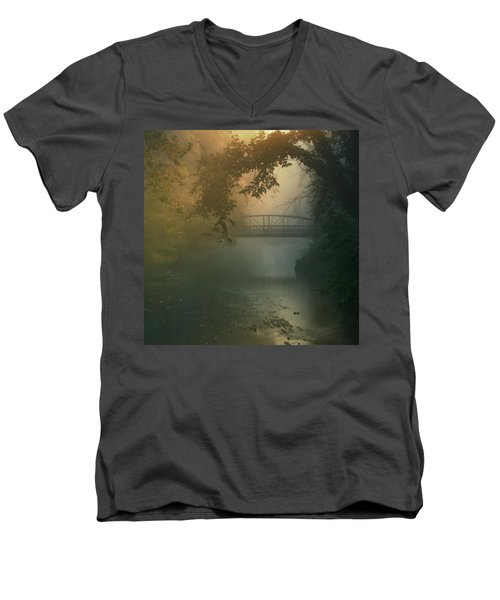 Furnace Run - Square Men's V-Neck T-Shirt
