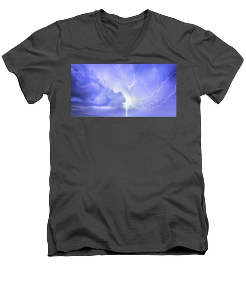 Fury Of The Storm Men's V-Neck T-Shirt