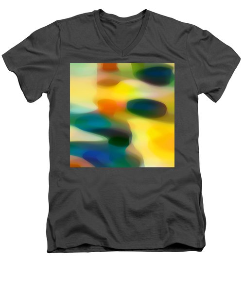 Fury Rain 1 B Men's V-Neck T-Shirt