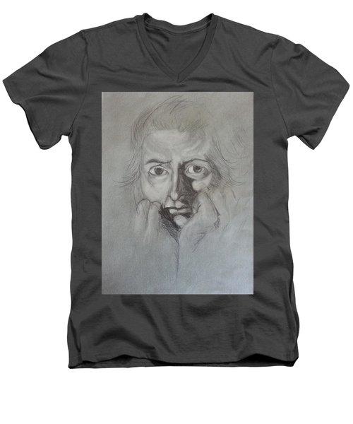 Fuseli Men's V-Neck T-Shirt