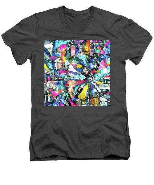 Fusion Process Men's V-Neck T-Shirt