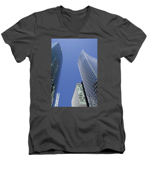 Future Metropolis Men's V-Neck T-Shirt