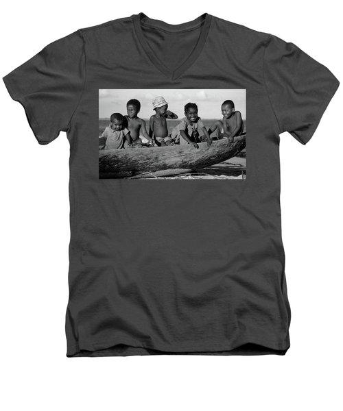 Future Sailors Men's V-Neck T-Shirt