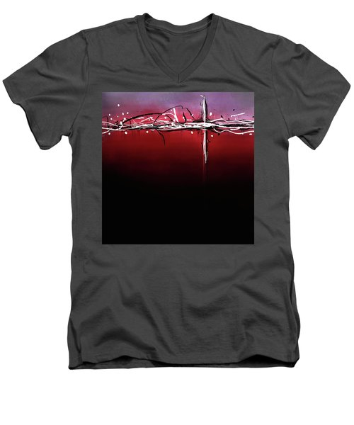 Futurism Men's V-Neck T-Shirt