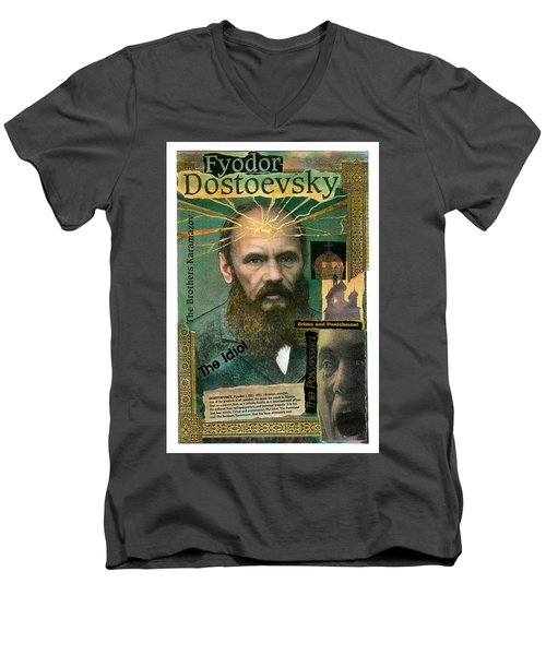 Fyodor Dostoevsky Men's V-Neck T-Shirt