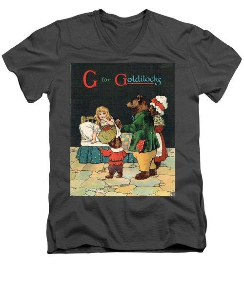 G For Goldilocks Men's V-Neck T-Shirt