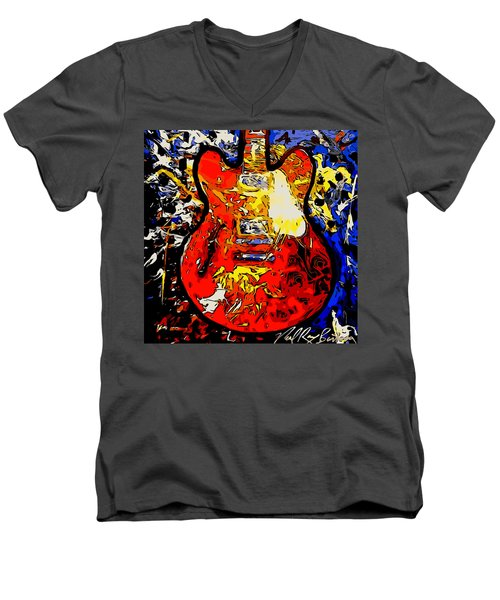 gibson ES-335 rework Men's V-Neck T-Shirt