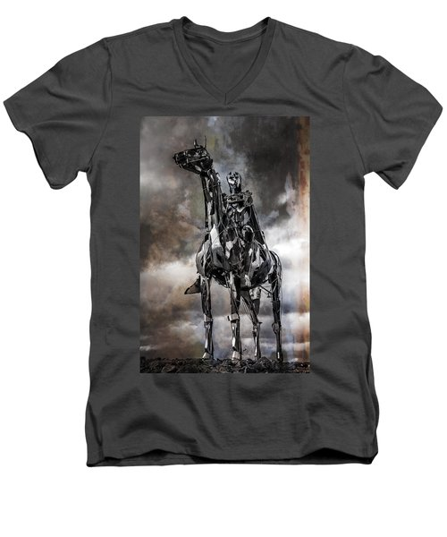 Gaelic Chieftain Men's V-Neck T-Shirt