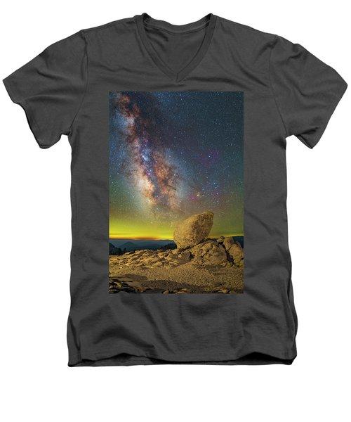 Galactic Erratic Men's V-Neck T-Shirt