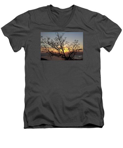 Galilee Sunset Men's V-Neck T-Shirt