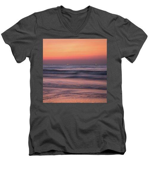 Galveston Morning Men's V-Neck T-Shirt