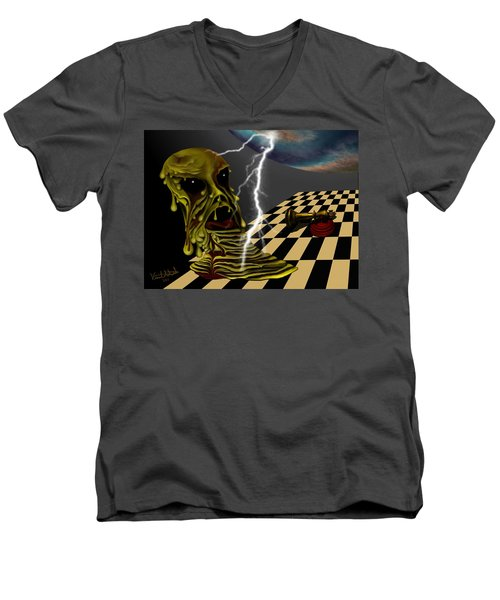 Game Over Men's V-Neck T-Shirt