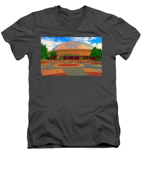 Gampel Uconn Men's V-Neck T-Shirt