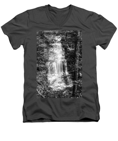 Ganoga Falls - 8907 Men's V-Neck T-Shirt