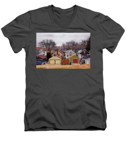 Garages Men's V-Neck T-Shirt