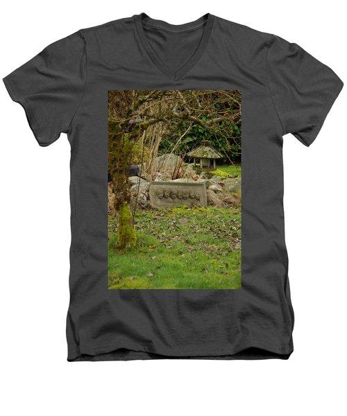 Garden Babies Men's V-Neck T-Shirt