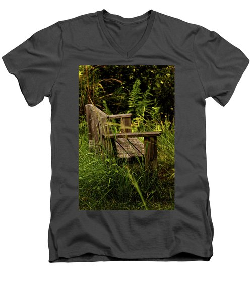 Garden Bench Men's V-Neck T-Shirt
