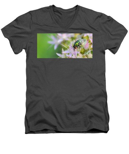 Garden Brunch Men's V-Neck T-Shirt