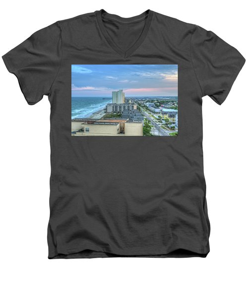 Garden City Beach Men's V-Neck T-Shirt