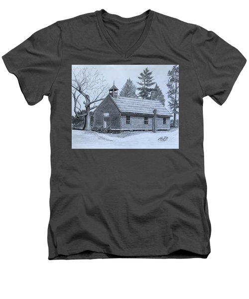 Garden Creek Baptist Church  Men's V-Neck T-Shirt by Tony Clark