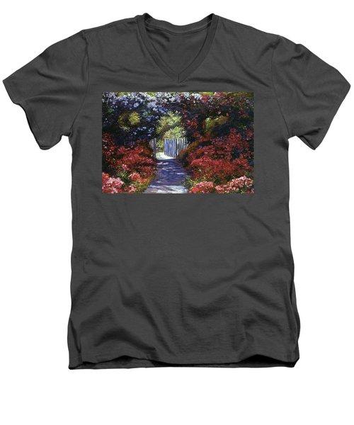 Garden For Dreamers Men's V-Neck T-Shirt