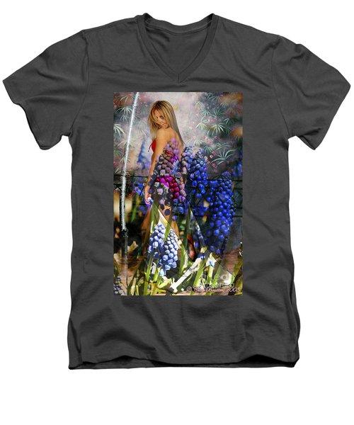 Garden Nymph Men's V-Neck T-Shirt