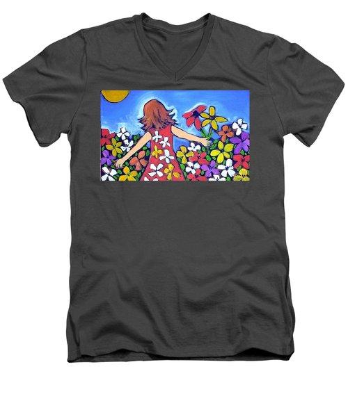 Garden Of Joy Men's V-Neck T-Shirt