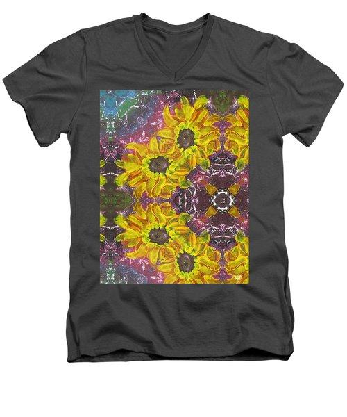 Garden Owls Men's V-Neck T-Shirt