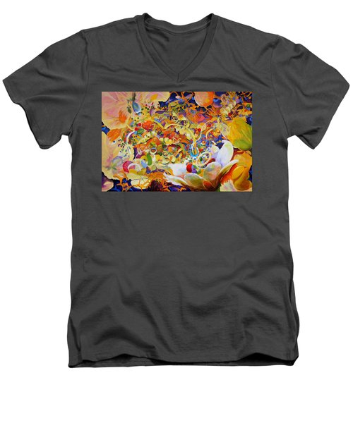 Garden Party Men's V-Neck T-Shirt