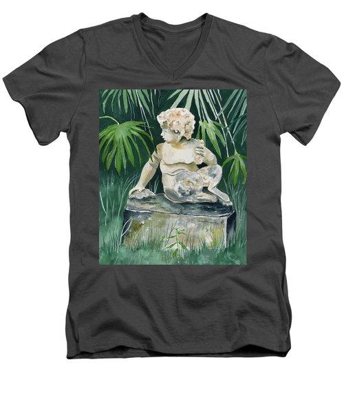 Garden Satyr Men's V-Neck T-Shirt