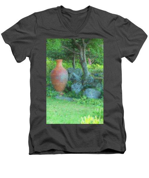 Garden Urn Men's V-Neck T-Shirt