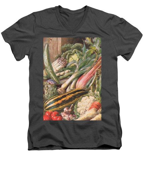 Garden Vegetables Men's V-Neck T-Shirt