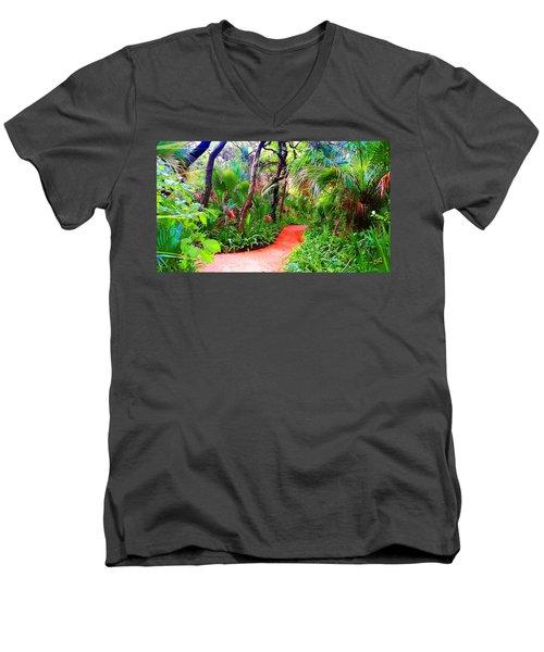 Garden Walk Men's V-Neck T-Shirt