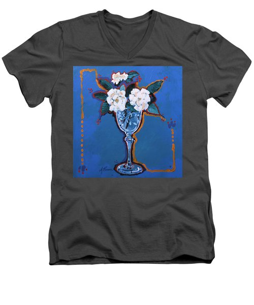Gardenias Men's V-Neck T-Shirt