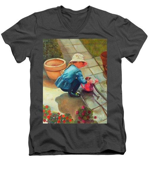 Gardening Men's V-Neck T-Shirt