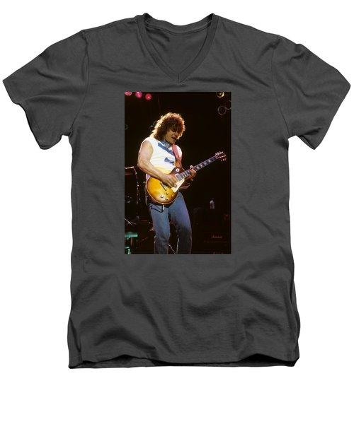 Gary Richrath Of Reo Speedwagon Men's V-Neck T-Shirt