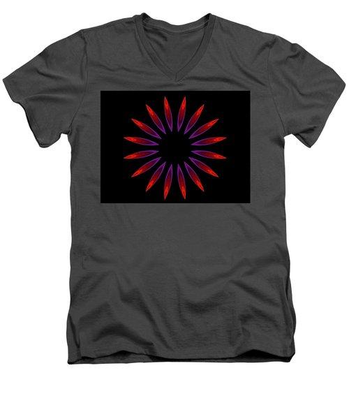 Gas Jets Men's V-Neck T-Shirt