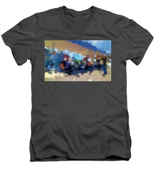 The Overpass Men's V-Neck T-Shirt