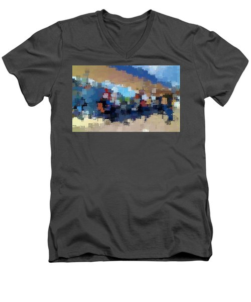 The Overpass Men's V-Neck T-Shirt
