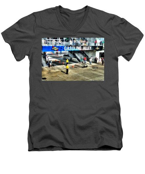 Gasoline Alley Men's V-Neck T-Shirt