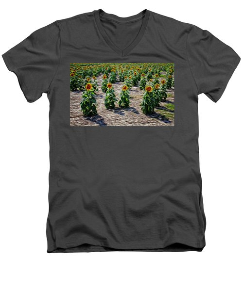 Gathering In Place Men's V-Neck T-Shirt